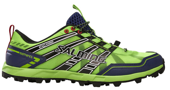 Salming M's Elements Shoes Gecko Green/Navy